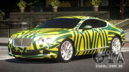 2013 Bentley Continental GT Speed PJ1 para GTA 4