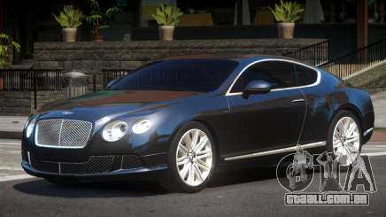 2013 Bentley Continental GT Speed V1.0 para GTA 4