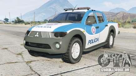 Mitsubishi L200 Departamento De Polícia para GTA 5
