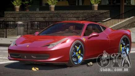 Ferrari 458 Italia V2.1 para GTA 4