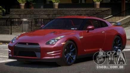 Nissan GT-R Qz para GTA 4