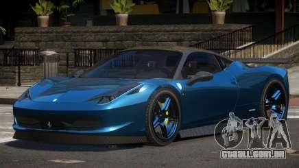 Ferrari 458 E-Style para GTA 4
