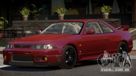 Nissan Skyline GT-R R33 RS para GTA 4
