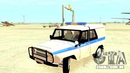 A Polícia UAZ 31512 para GTA 4