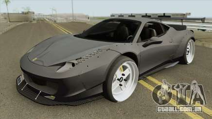Ferrari 458 (LB-WALK) para GTA San Andreas