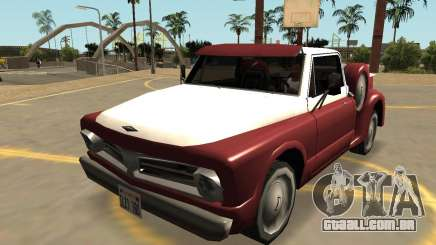 Insípido Slamvan de Ações (Sa Estilo, Extras & PJ) para GTA San Andreas