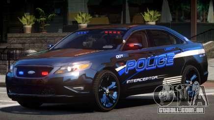 Ford Taurus Police V1.2 para GTA 4