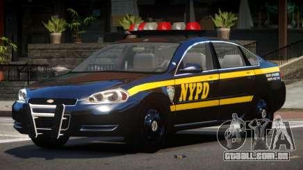 Chevrolet Impala LS Police para GTA 4