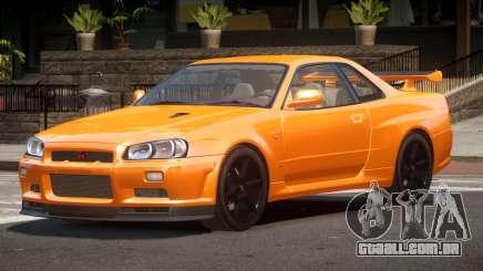 Nissan Skyline R34 L-Tuned para GTA 4