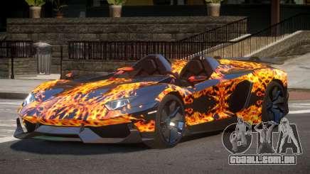 Lamborghini Aventador Spider SR PJ1 para GTA 4