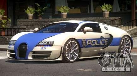 Bugatti Veryon Police V1.2 para GTA 4