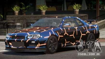 Nissan Skyline R34 L-Tuned PJ3 para GTA 4