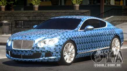 2013 Bentley Continental GT Speed PJ3 para GTA 4