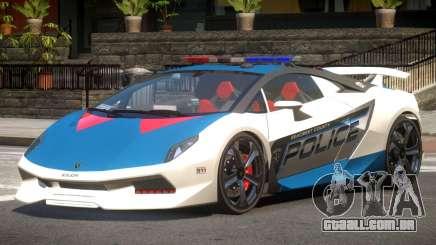 Lamborghini SE Police V1.4 para GTA 4
