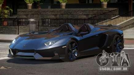 Lamborghini Aventador Spider SR para GTA 4