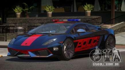 Lamborghini Gallardo SR Police para GTA 4