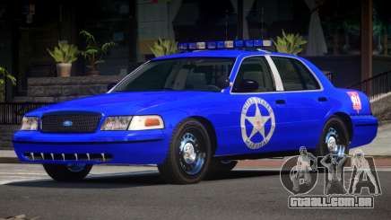 Ford Crown Victoria USM Police para GTA 4