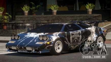 1985 Lamborghini Countach LP500 QV PJ5 para GTA 4