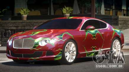 2013 Bentley Continental GT Speed PJ4 para GTA 4