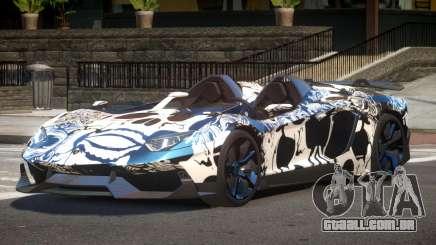 Lamborghini Aventador Spider SR PJ6 para GTA 4