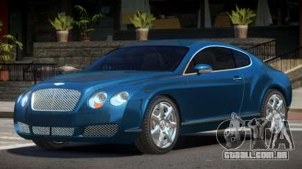Bentley Continental GT S-Tuned para GTA 4