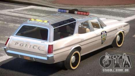 Oldsmobile Vista Cruiser RS Police para GTA 4