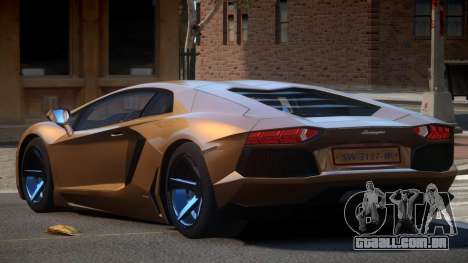 Lamborghini Aventador S-Style para GTA 4
