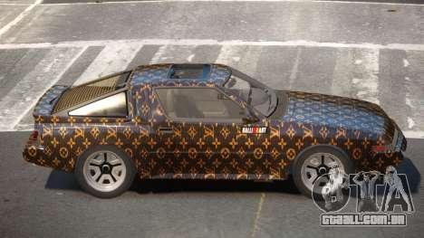 Mitsubishi Starion SR PJ1 para GTA 4