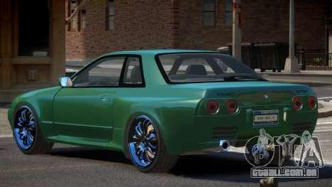 Nissan Skyline R32 IVE para GTA 4