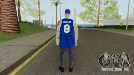 Random Male V1 (Los Angeles Lakers) para GTA San Andreas
