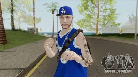 Random Male V2 (Los Angeles Lakers) para GTA San Andreas