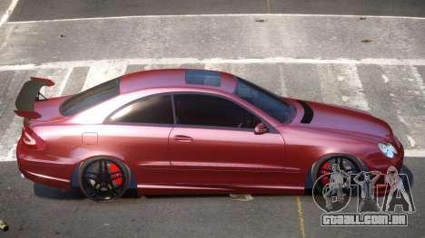 Mercedes Benz CLK 63 R-Tuning para GTA 4
