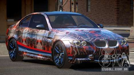 BMW M3 E92 LR PJ2 para GTA 4