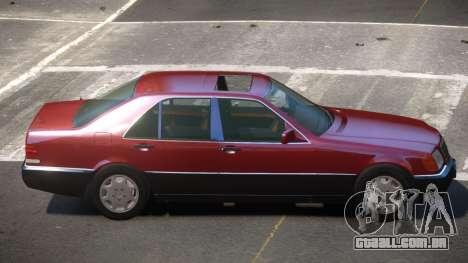 Mersedes Benz 500SE V1.3 para GTA 4
