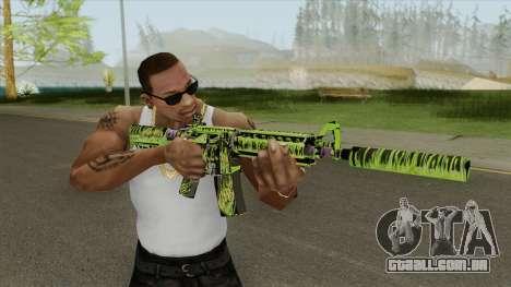M4A4 Toxicator (CS:GO) para GTA San Andreas