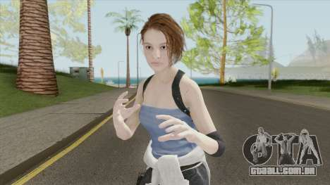 Jill Valentine V3 (RE3 Remake) para GTA San Andreas