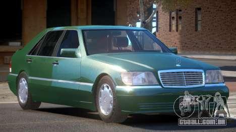 Mercedes Benz W140 S600 V1.0 para GTA 4