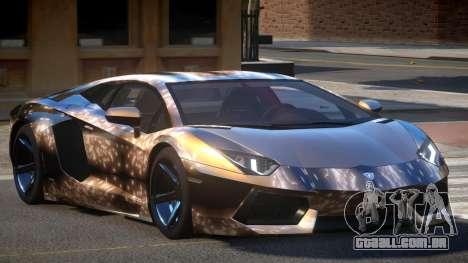 Lamborghini Aventador S-Style PJ2 para GTA 4