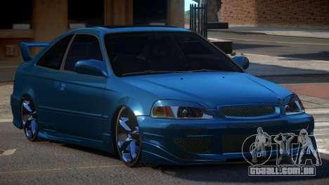 Honda Civic D-Tuned para GTA 4