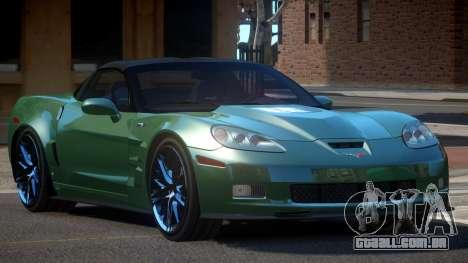 Chevrolet Corvette SE para GTA 4