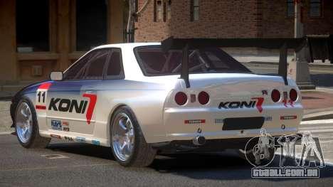 Nissan Skyline R32 D-Style PJ3 para GTA 4
