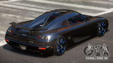 Koenigsegg CCXR TI para GTA 4