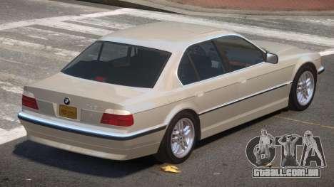 BMW 740i V1.2 para GTA 4