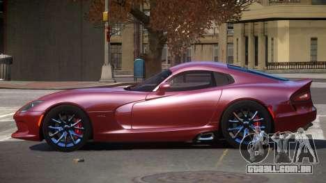 Dodge Viper SRT D-Tuned para GTA 4