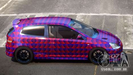Honda Civic Type R-Tuned PJ3 para GTA 4