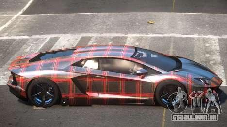 Lamborghini Aventador S-Style PJ6 para GTA 4