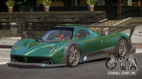 Pagani Zonda R-Tuned para GTA 4