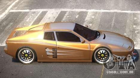 Ferrari 512 RLS para GTA 4