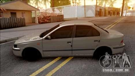 Ikco Samand Kafkhab para GTA San Andreas
