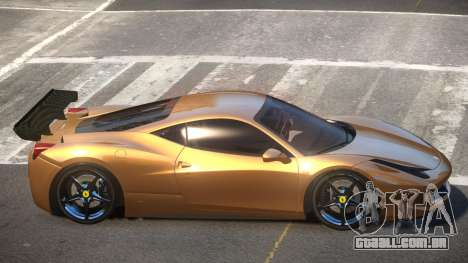 Ferrari 458 SRI-37 para GTA 4